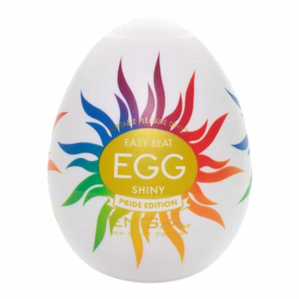 TENGA Egg Shiny Pride Edition - masturbator